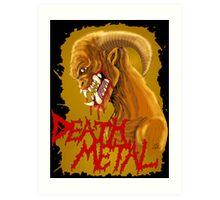 Death Metal Monster Art Print