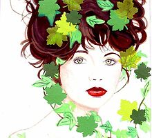 Kate Bush under the ivy by gabigirl77