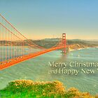 Merry Christmas Greetings from San Francisco by Alberta Brown Buller