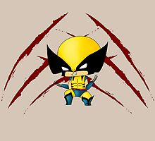 Chibi Wolverine by artwaste