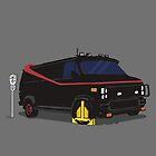 The A-Team Van Wheel Clamp  by Creative Spectator