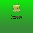 Happle iPhone Green by Adam Angold