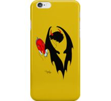 Smauglock Holmes: Reflections of a Consulting Dragon iPhone Case/Skin