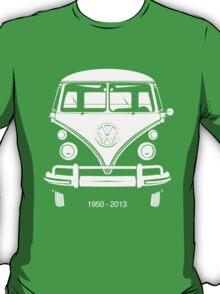 VW BUS, 1950-2013  T-Shirt