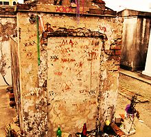 Tomb of Marie Laveau by ChelcieSPorter