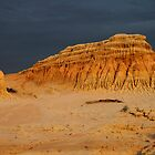 Ancient Sunset, Mungo National Park, Australia by Carole-Anne