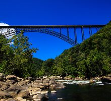 New River Gorge Bridge by Shari Galiardi