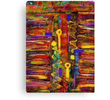 Two Keyholes Canvas Print
