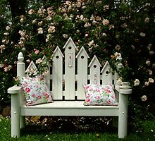 Sit Here & Smell The Roses by Gabrielle  Lees