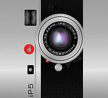 Like-a Leica Camera – iPhone 5 Case by Alisdair Binning