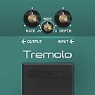 Boss Tremolo Pedal – iPhone 5 Case by Alisdair Binning