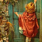 iPhone Case - Vintage Girl by  Kira Bodensted