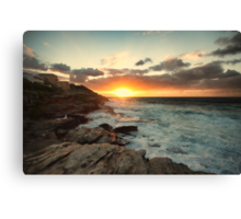 Tamarama Sunrise Canvas Print