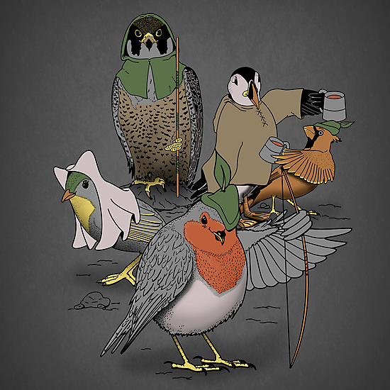 Robin and his merry friends. by J.C. Maziu