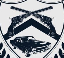 Winchester U Sticker