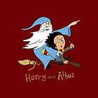 Harry & Albus iPhone Case by wittytees