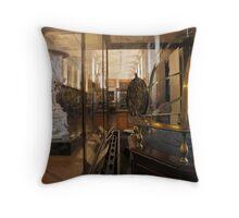 Enlightenment Room: A Gentleman's Library II Throw Pillow