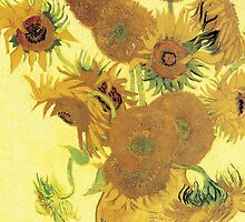 Van Gogh iPhone 5 Case - Sunflowers  by VanGoghCases