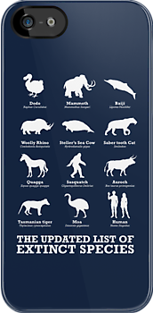 The Updated List of Extinct Species by vcalahan