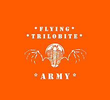 Flying Trilobite Army by Glendon Mellow