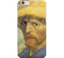 Van Gogh iPhone 5 Case - Self-Portrait with Straw Hat iPhone Case/Skin