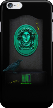 """Haunted Mansion """"Leota Headstone"""" iPhone 5 cover by Topher Adam for Hugs & Bitchslaps by TopherAdam"""