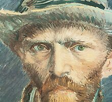 Van Gogh iPhone 5 Case - Self-Portrait with Grey Felt Hat by VanGoghCases