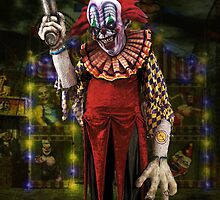 Jim Le Grin the Creepy Clown by Smudgers Art