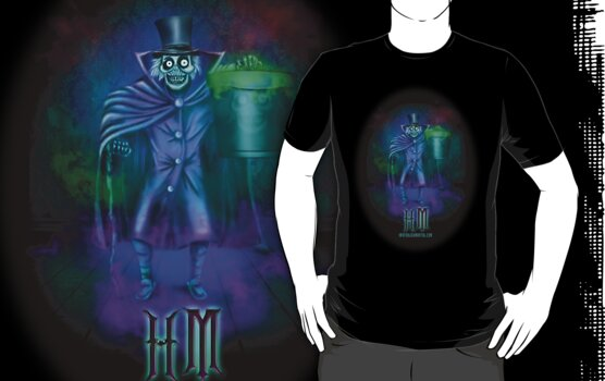 Haunted Mansion Hatbox Ghosts by Topher Adam by TopherAdam