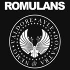 Romulans Star Trek &quot; Ramones logo&quot;  by BUB THE ZOMBIE