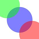 RGB circles  by leighsthings