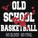 Old School Basketball Dark by SportsT-Shirts