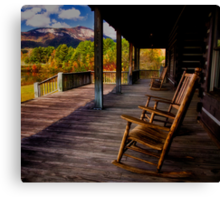 Relax and Enjoy the View Canvas Print
