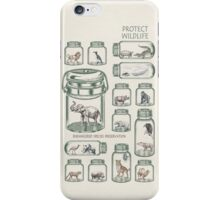 Protect Wildlife - Endangered Species Preservation  iPhone Case/Skin