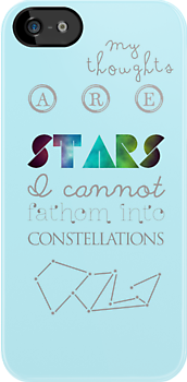 the constellation of my head. by leighsthings