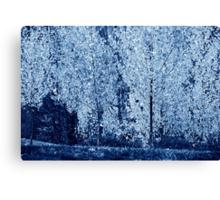 Blue #4 Canvas Print