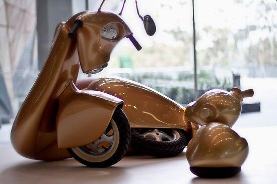 Art imitating life . . . by Ell-on-Wheels