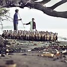 Duck Herders by Komang