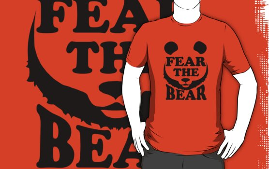 Fear the Bear- SF Giants  by spacemonkeydr