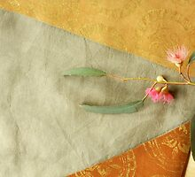 Table Runner Golden detail by Jenny Hogben