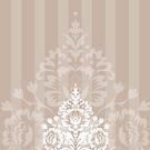 elegant serene pattern 2 by Kat Massard