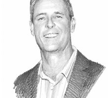 CEO pencil drawing by Mike Theuer