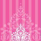 elegant serene pattern 6 by Kat Massard