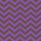Bold Chevron Pattern 7 by Kat Massard