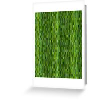 digital bamboo Greeting Card