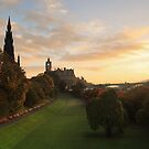 Edinburgh City Sunrise by Steve Jensen