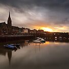 Newhaven Sunset by Steve Jensen