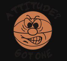 Basketball Attitude Kids Clothes