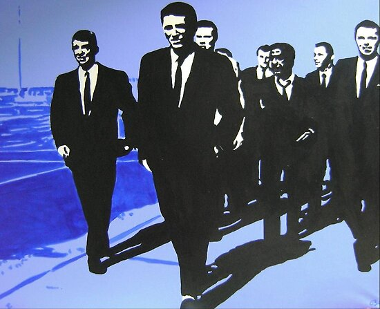 The Rat Pack - Blue by Jessica Buie