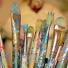 Paint Brushes by Steven Gibson
